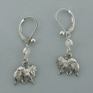 Pomeranian Earrings - SPOM503