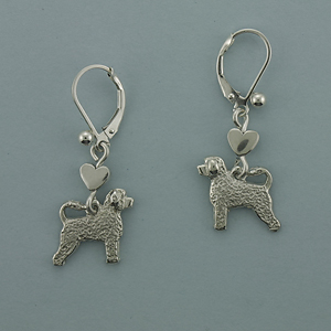 Portuguese Water Dog Earrings - SPORT500