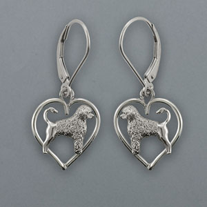 Portuguese Water Dog Earrings - SPORT508