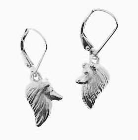 Shetland Sheepdog Earrings - SSHET505