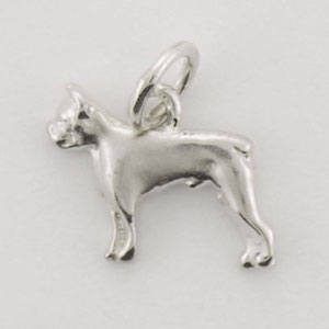 Boston Terrier Dog Charm - STINY101