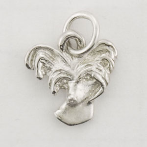 Chinese Crested Dog Charm - STINY106