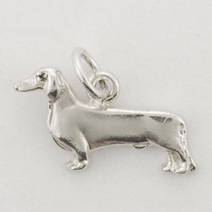 Dachshund, Smooth Dog Charm - STINY108