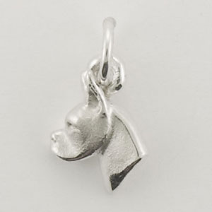 Boxer Dog Charm - STINY126