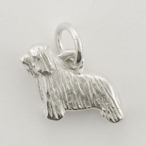 Bearded Collie Dog Charm - STINY127