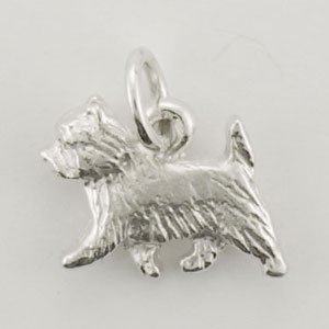Cairn Terrier Dog Charm - STINY135