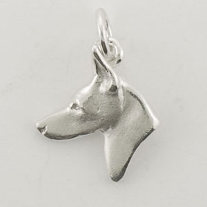 Doberman Pinscher Dog Charm - STINY138