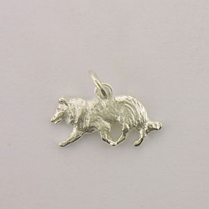 Border Collie Dog Charm - STINY145