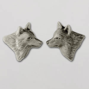 Wolf Earrings - SWOLF101