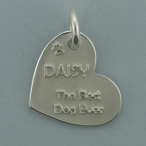 Silver Dog Tags Pendant - SDT506