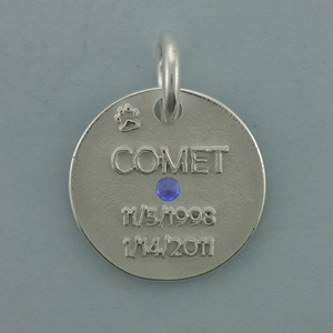 Silver Dog Tags Pendant - SDT509