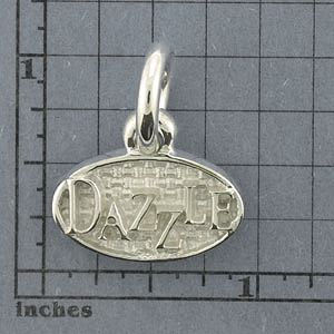 Silver Dog Tags Pendant - SDT102