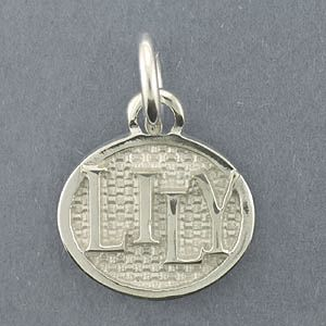 Silver Dog Tags Pendant - SDT103